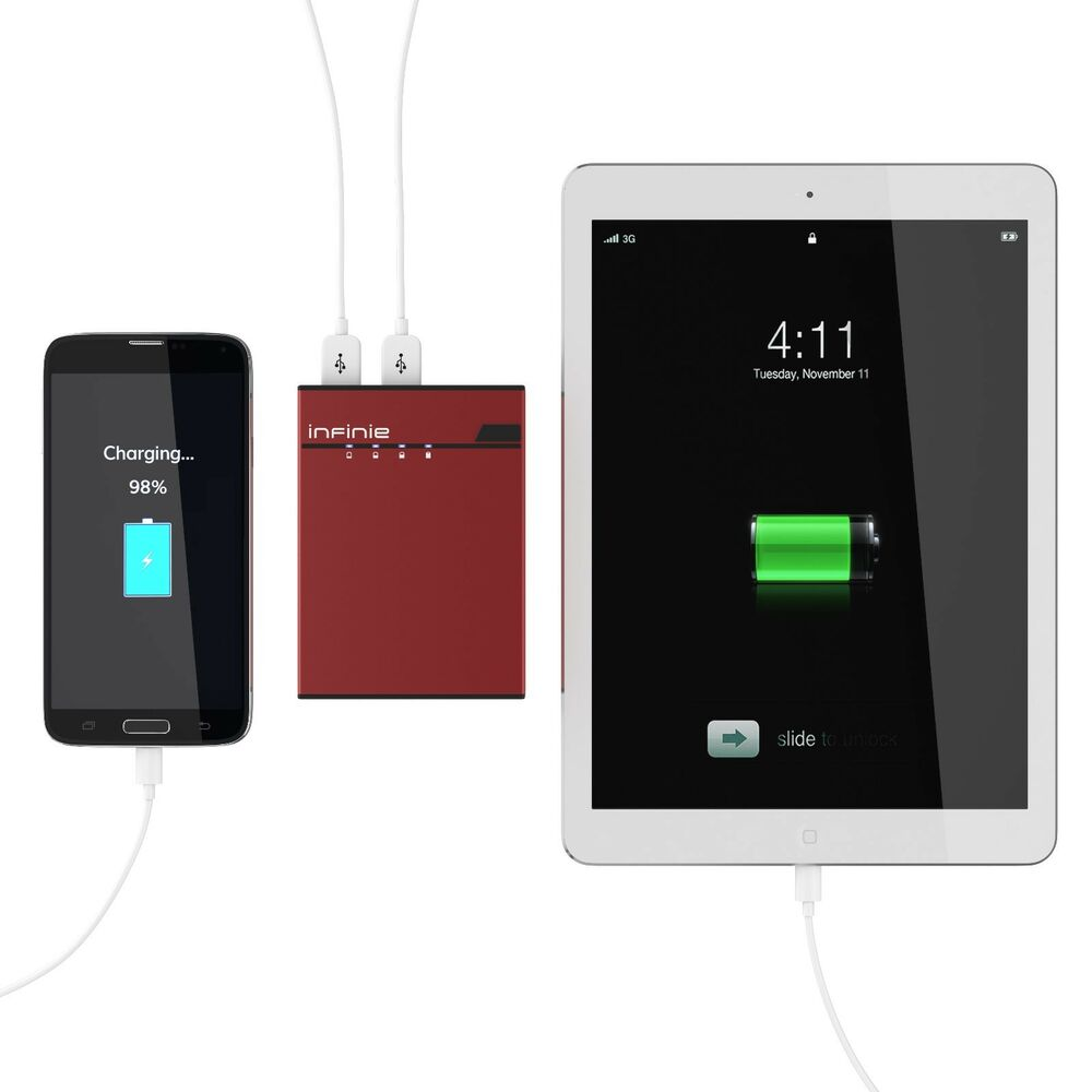 Backup External Battery Power Bank Battery Charger For