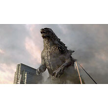 2014's GODZILLA King of the Monsters ground level color 6x10 scene
