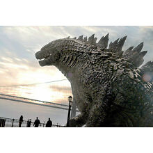 2014's GODZILLA King of the Monsters profile study color 7x10 scene