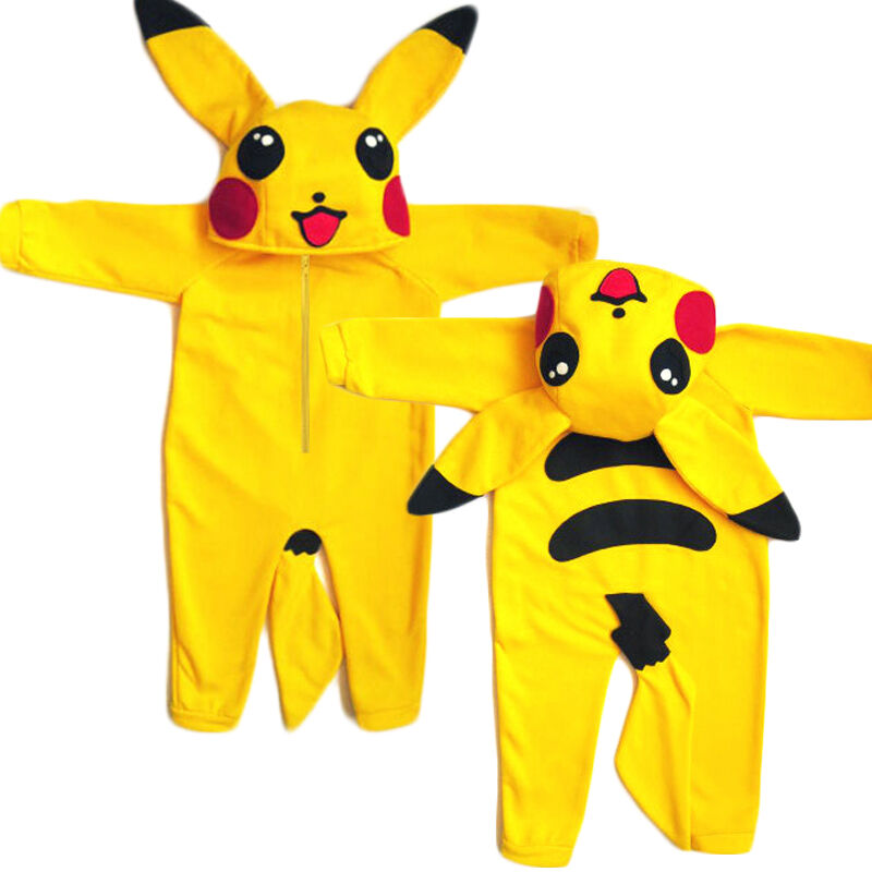 4d67d763c982 Details about Pokemon Go Newborn Infant Baby Boy Girl Outfit Jumpsuit  Rompers Playsuit Cosplay