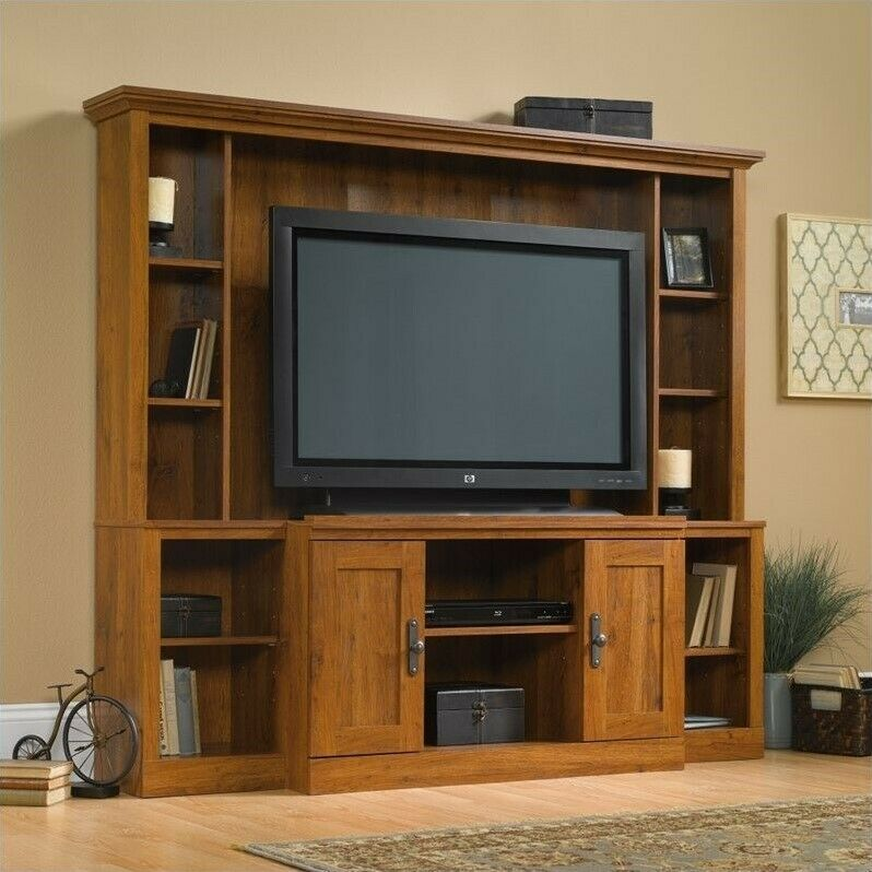 Sauder Harvest Mill Entertainment Center 42666606639 Ebay