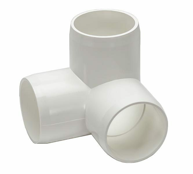 Inch pvc way quot l pipe fitting furniture grade