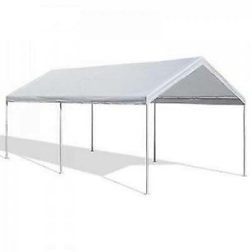 Portable Carports 10 20 : Portable carport garage kit tent steel metal