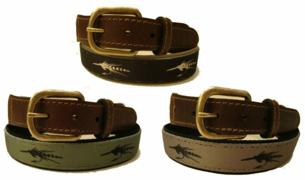 Croakies Leather Nylon Canvas Flyfish Fly Fish Fishing