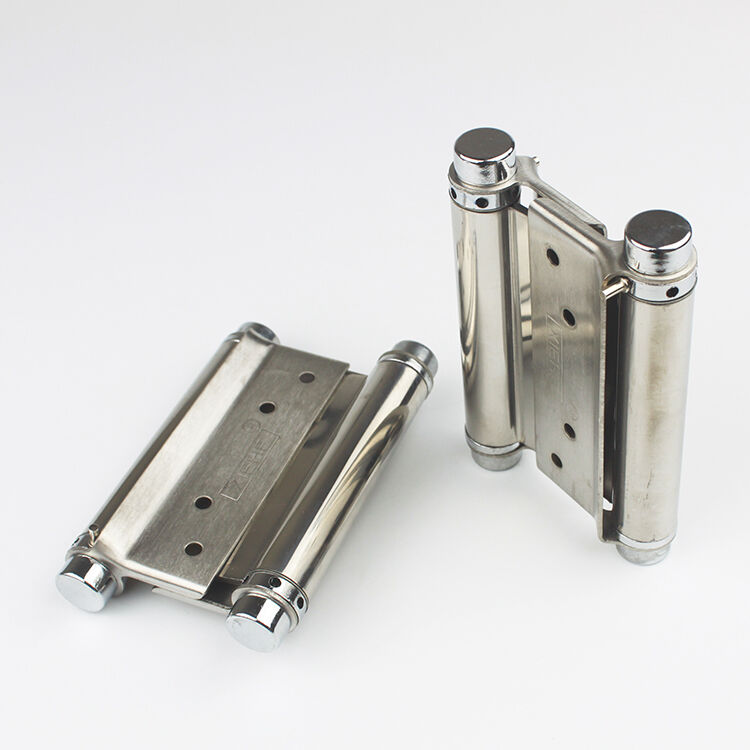 Saloon Door Hinges : Pair quot double action way swing spring hinge kitchen