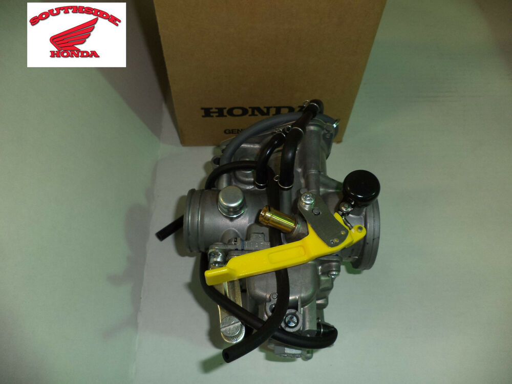 Honda 400 Ex >> GENUINE HONDA CARBURETOR ASSEMBLY TRX400EX TRX400X | eBay