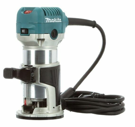 Makita 1-1/4 HP Compact Corded Routers Woodworking Power ...