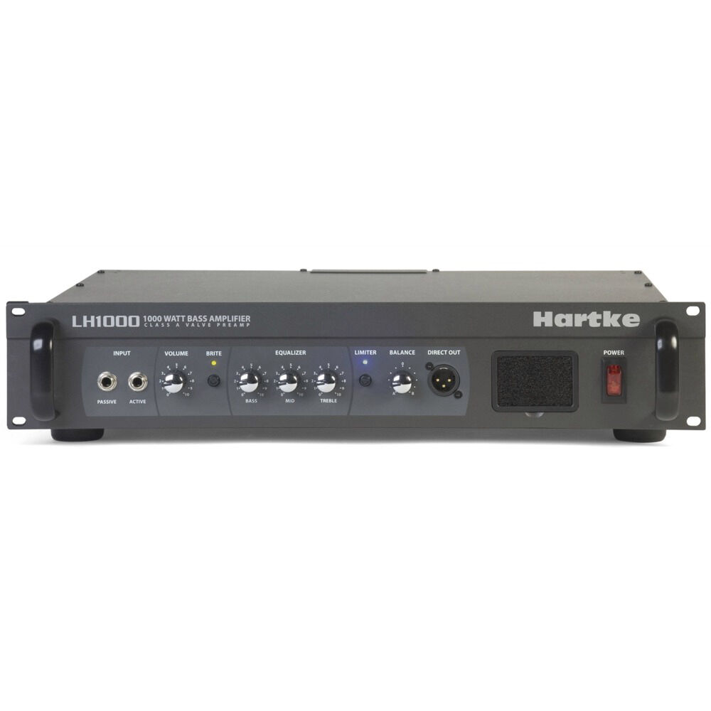 hartke lh1000 1000 watt bass guitar amplifier head class a tube preamp circuit ebay. Black Bedroom Furniture Sets. Home Design Ideas
