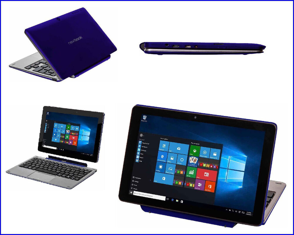 new pc laptop nextbook flexx 8 9 2 in 1 tablet 32gb intel. Black Bedroom Furniture Sets. Home Design Ideas