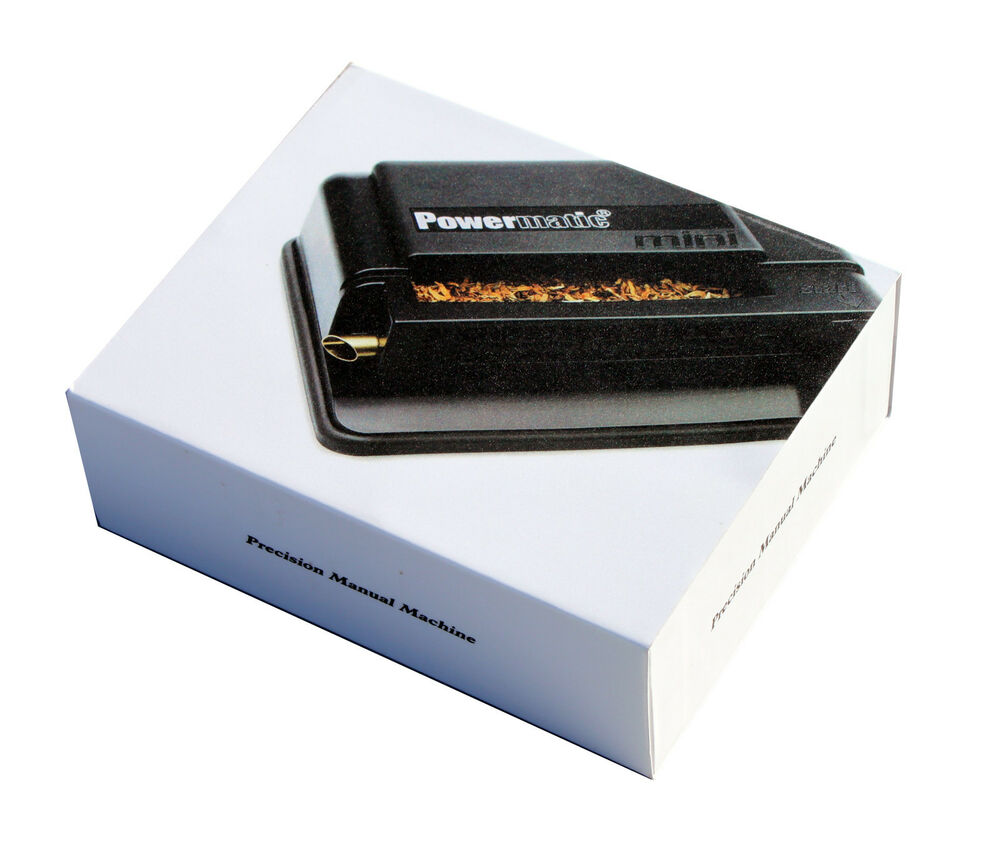 powermatic electric cigarette rolling machine