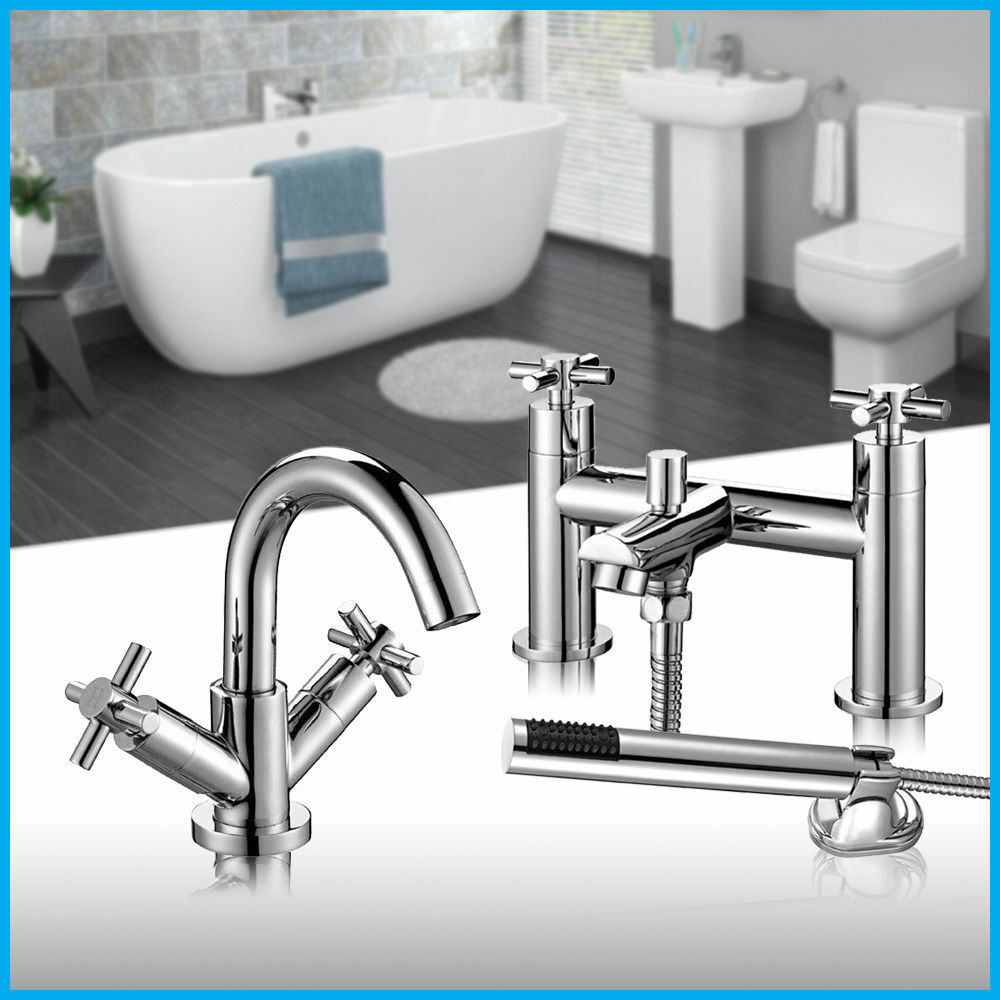 bathroom sink mixer taps uk modern chrome cross bathroom bath shower mixer tap 22344