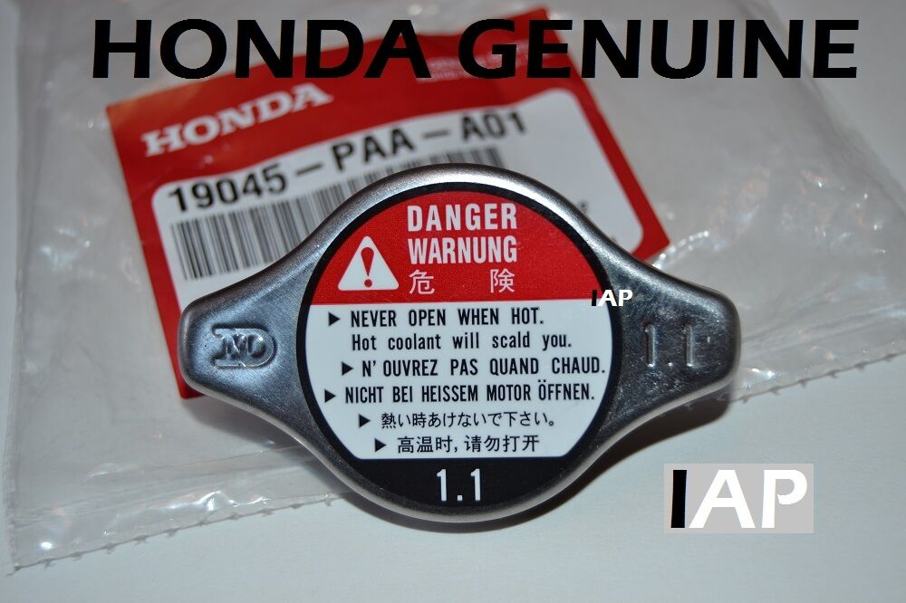 New Honda Pilot >> Honda Accord Civic CRV Pilot Odyssey Radiator Cap NEW GENUINE 19045-PAA-A01 | eBay