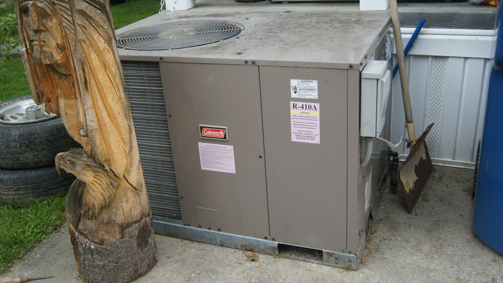 Coleman R410a 2 Ton 13 Seer Horizontal Packaged Unit Ac