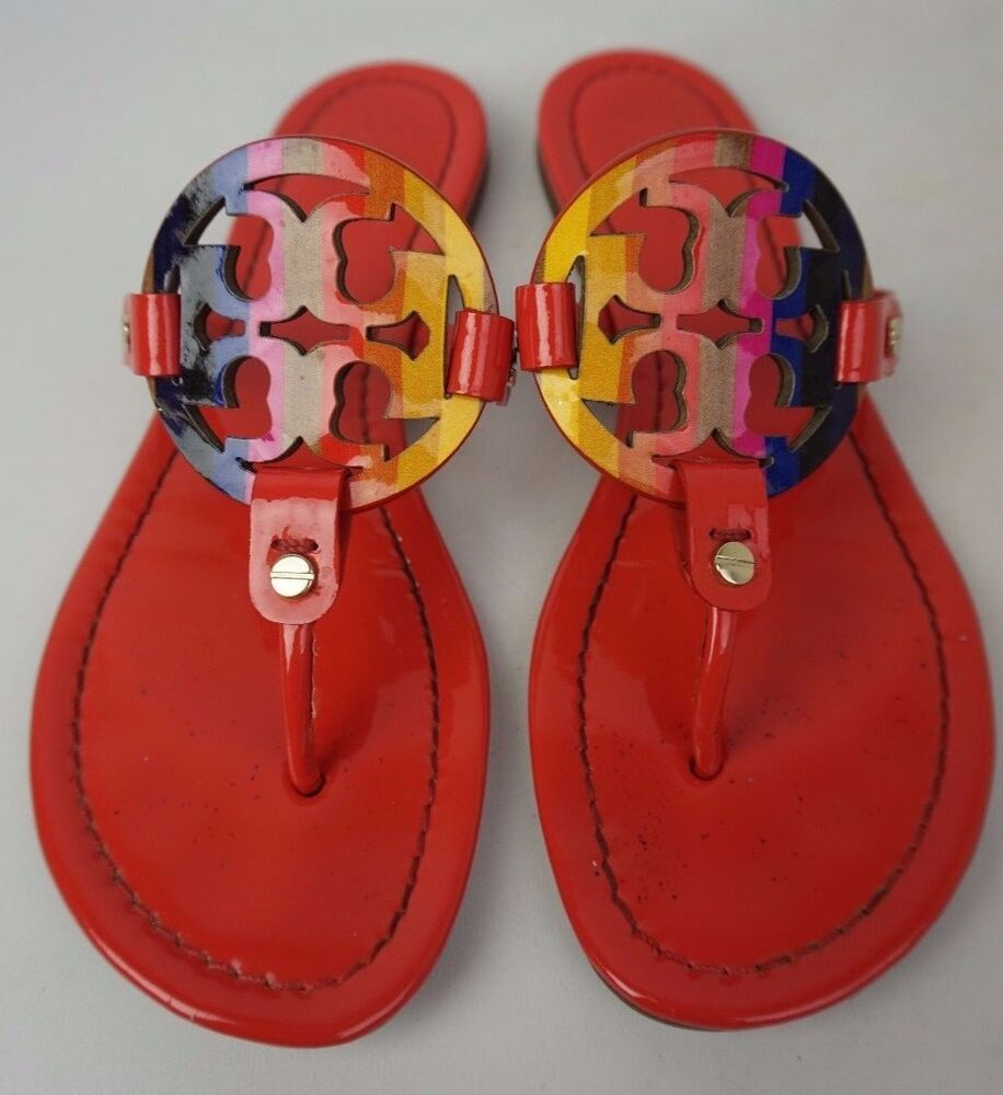 Red Shoes Sandals Ebay