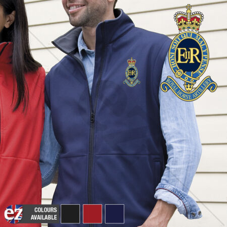 img-1 RHA Royal Horse Artillery - Body Warmer with Embroidered Badge