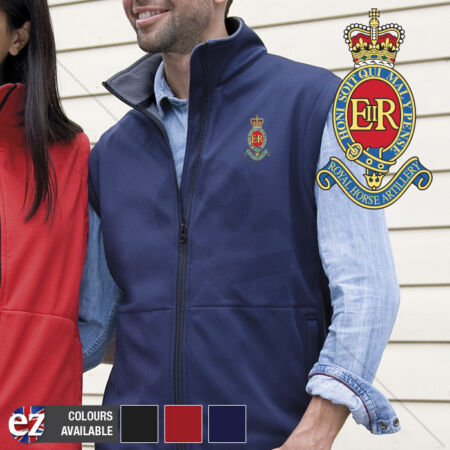img-3RHA Royal Horse Artillery - Body Warmer with Embroidered Badge