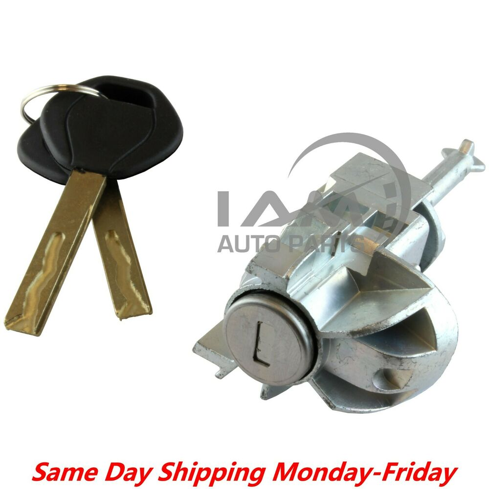 Driver Left Door Lock Cylinder Barrel Assembly W Keys For
