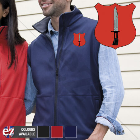 img-Infantry - Body Warmer with Embroidered Badge