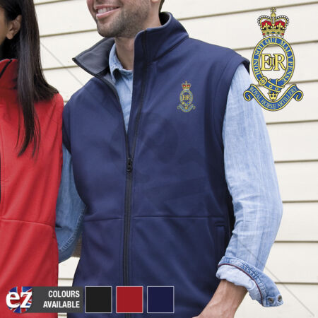 img-Royal Horse Artillery - Body Warmer with Embroidered Badge