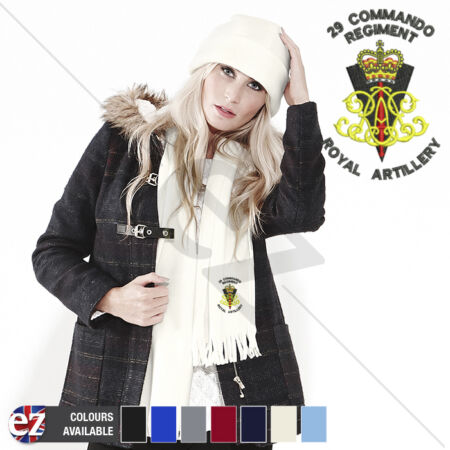 img-29 Commando Regiment - Scarf - With Embroidered Badge