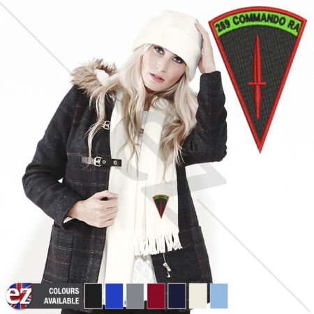 img-289 Commando - Scarf - With Embroidered Badge