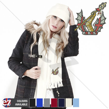 img-Honourable Artillery Company - Scarf - With Embroidered Badge