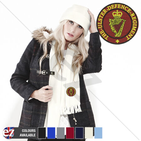 img-Ulster Defence Regiment - Scarf - With Embroidered Badge