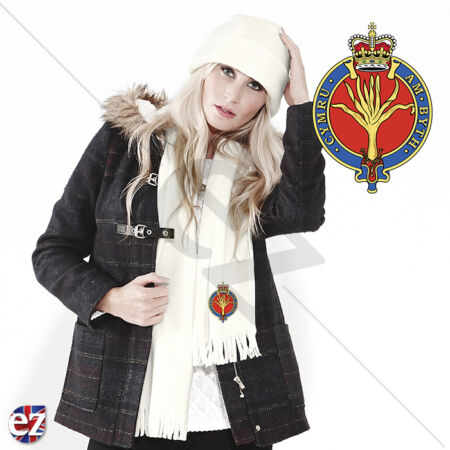 img-The Welsh Guards - Scarf - With Embroidered Badge
