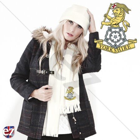 img-The Yorkshire Regiment - Scarf - With Embroidered Badge