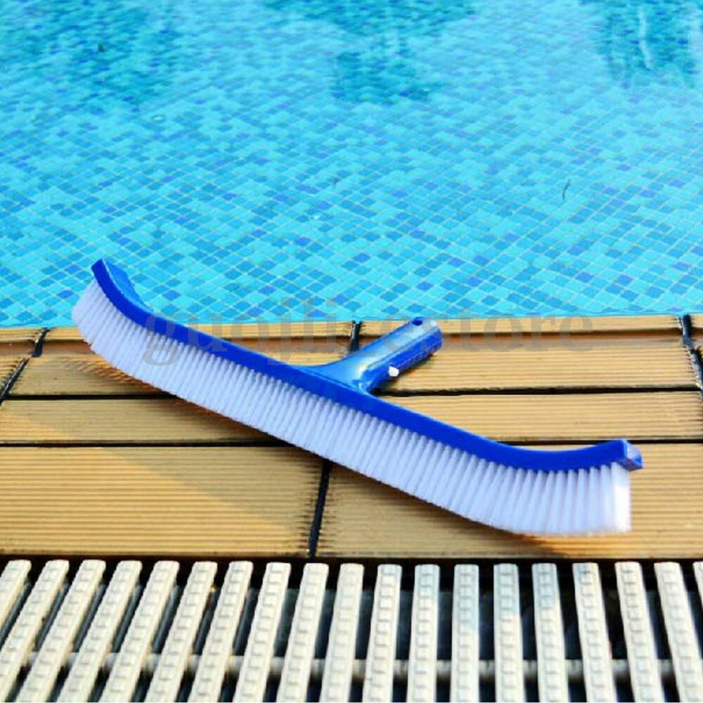 Swimming Pool Cleaning Head : Swimming pool spa algae cleaning brush head heavy duty