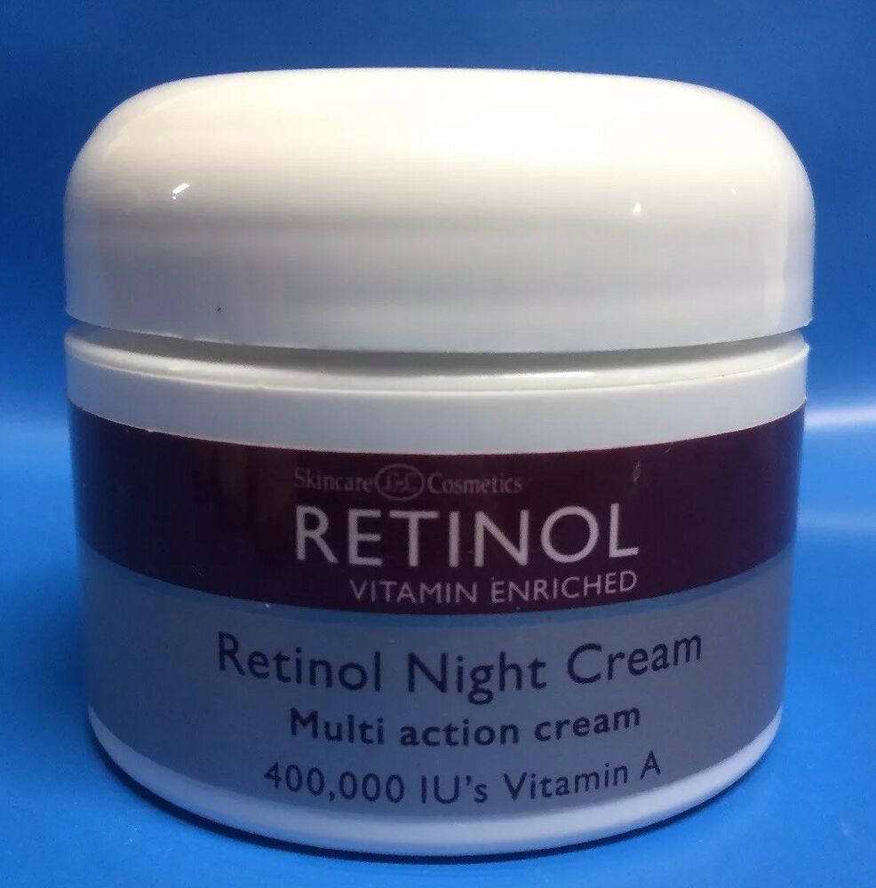 LdeL Cosmetics Night Creams Skincare Retinol Vitamin Enriched Night Cream 1 oz.