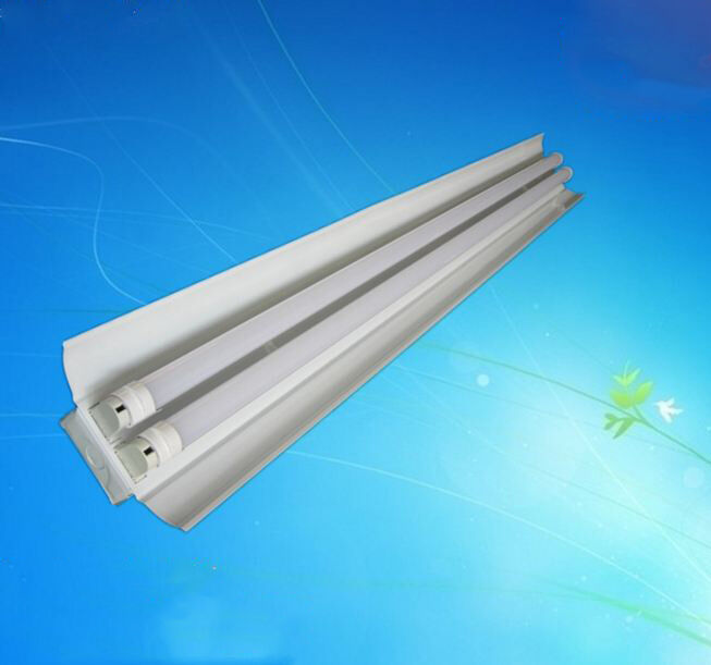 4 Bulb Lamp T8 Led High Bay Warehouse Shop Garage: 36W 4FT Hanging LED Shop Light High Bay Lamp T8 Tube Bulb