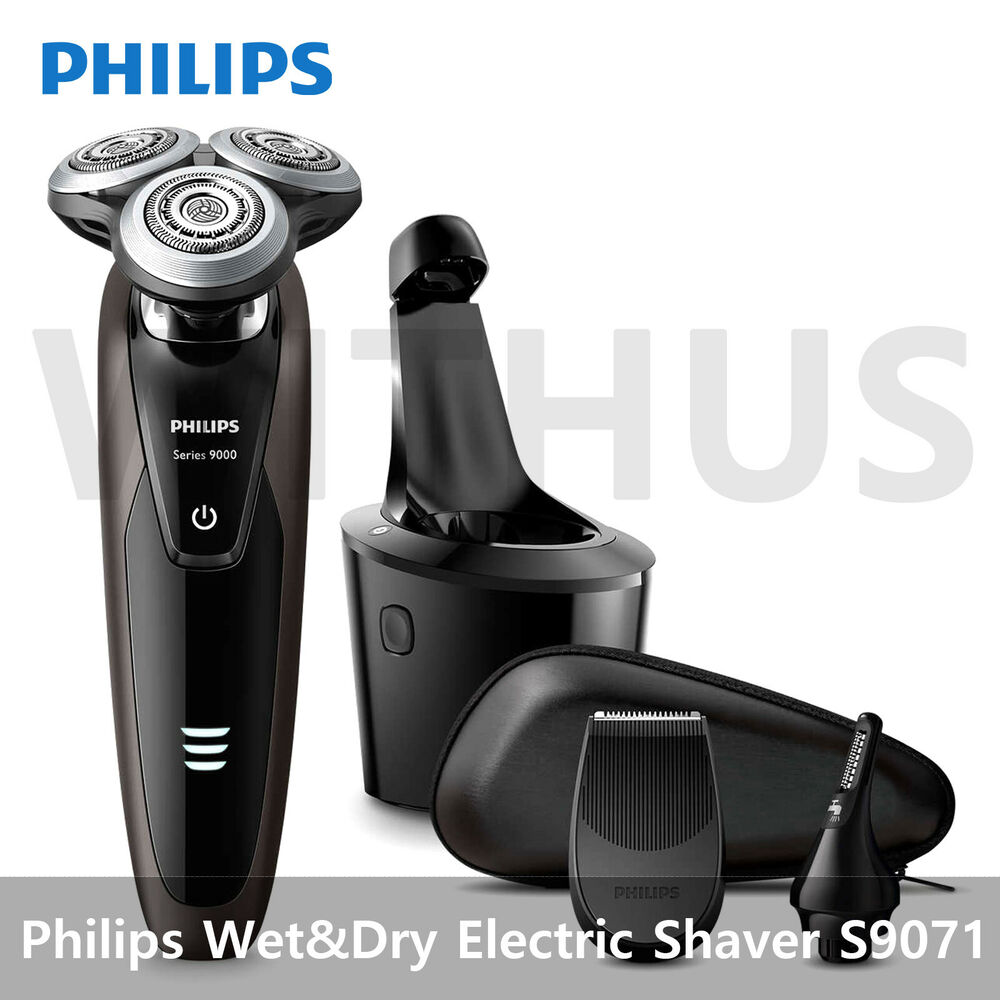 philips 9000 series s9511 electric shaver with smartclean ebay. Black Bedroom Furniture Sets. Home Design Ideas