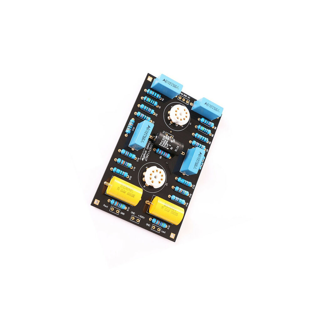 classic circuit tube preamplifier preamp board diy kits for 12ax7 21au7 tube ebay. Black Bedroom Furniture Sets. Home Design Ideas