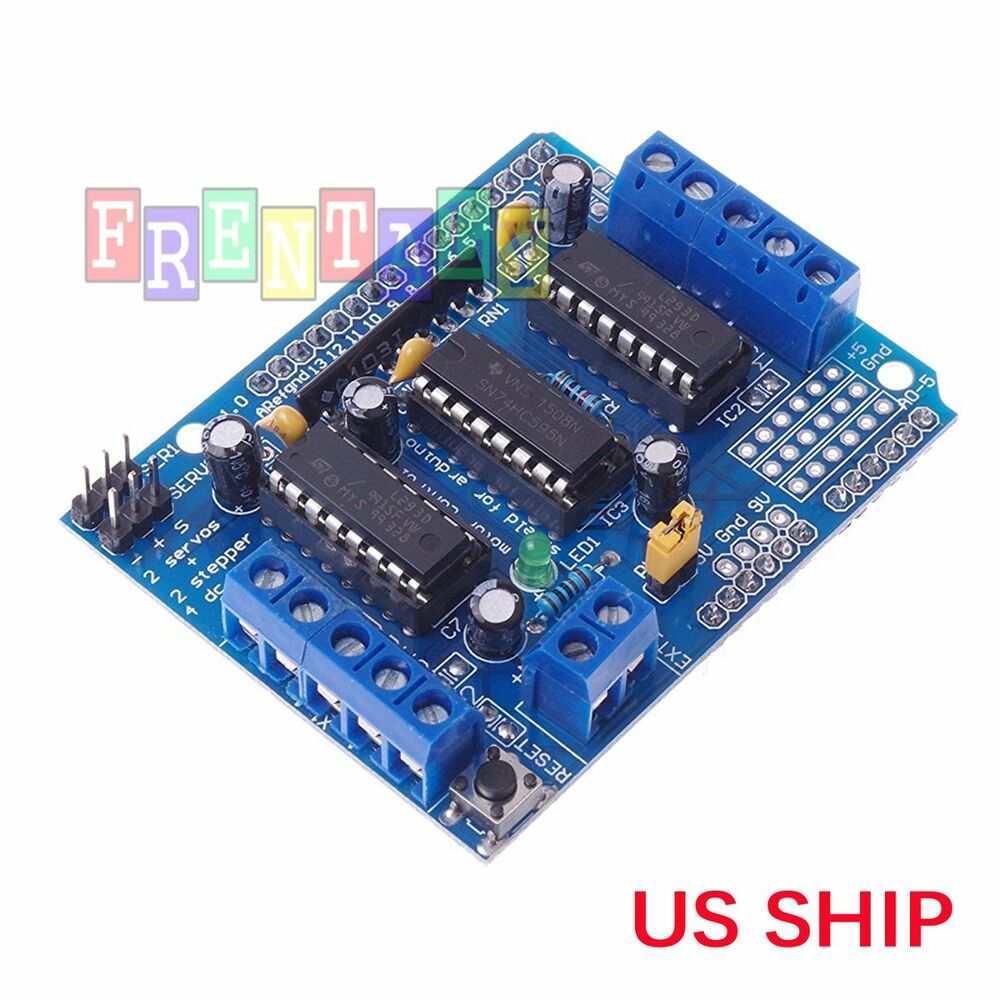 L293d motor drive shield expansion board for arduino Arduino motor control board