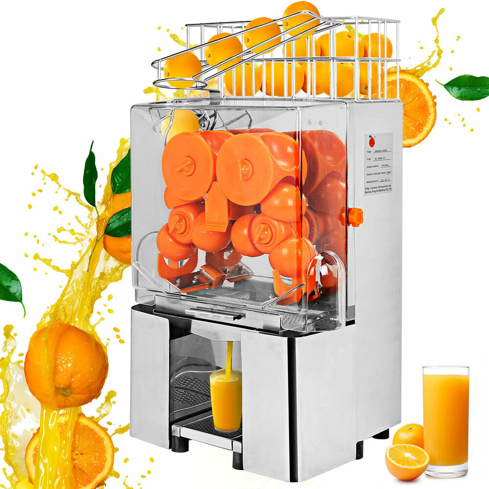 commercial electric orange squeezer juice fruit maker juicer press machine ebay. Black Bedroom Furniture Sets. Home Design Ideas