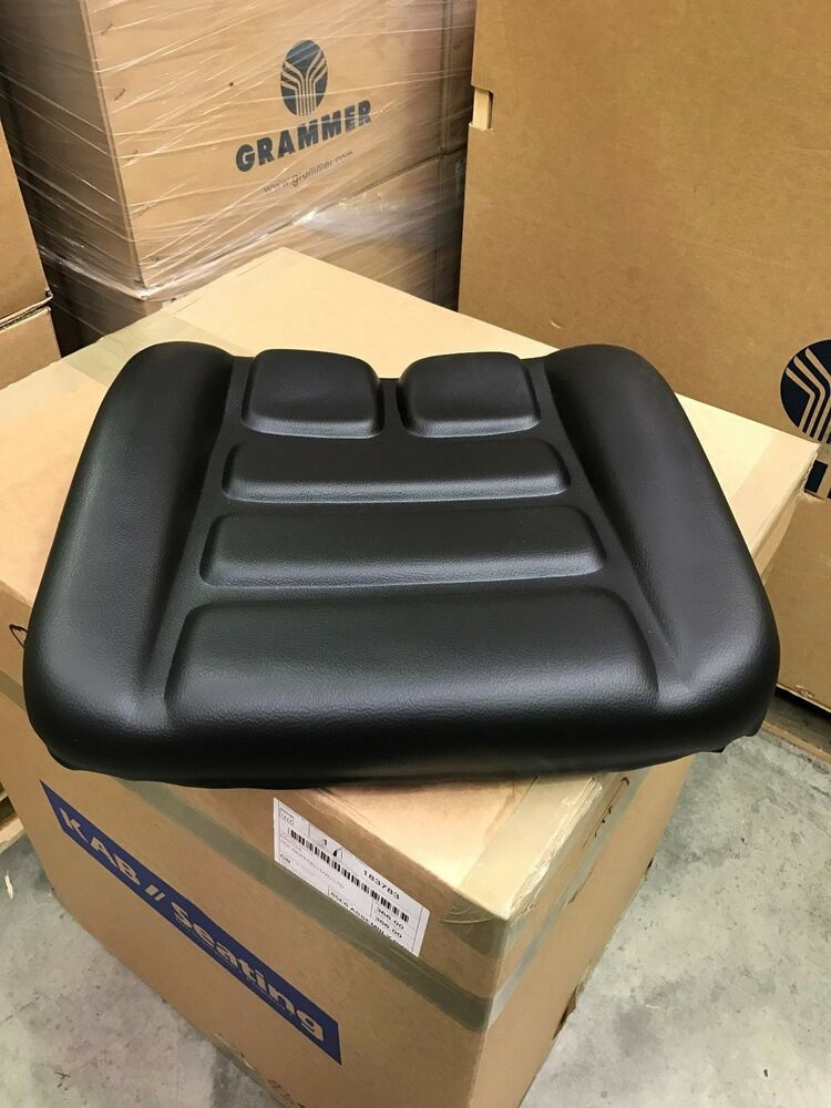 Ls Tractor Seat Replacements : Grammer ds msg h seat cushion pvc ebay