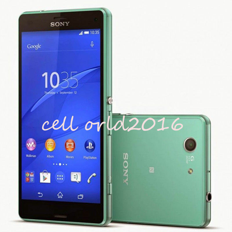 unlocked sony ericsson xperia z3 compact d5803 16gb lte. Black Bedroom Furniture Sets. Home Design Ideas