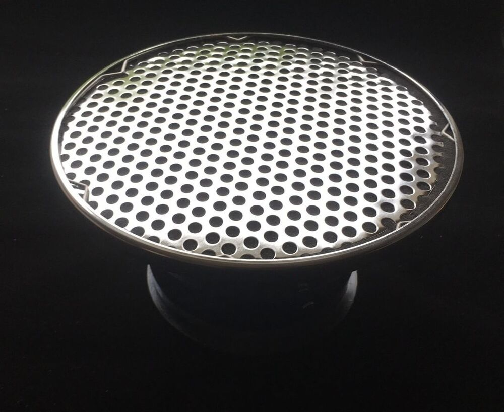 Four Bbl Carb Air Cleaners : Velocity stack chrome nostalgic air cleaner filter