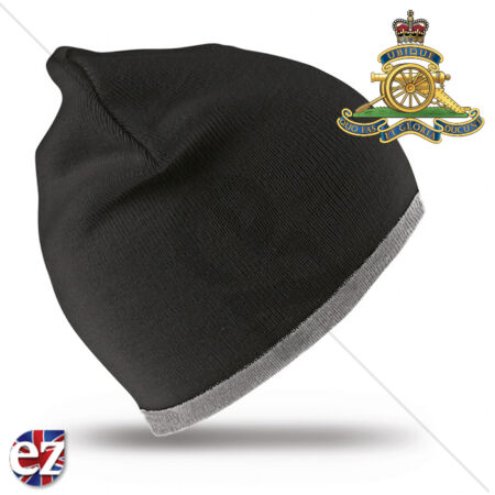 img-Royal Artillery - Beanie Hat with Embroidered Badge