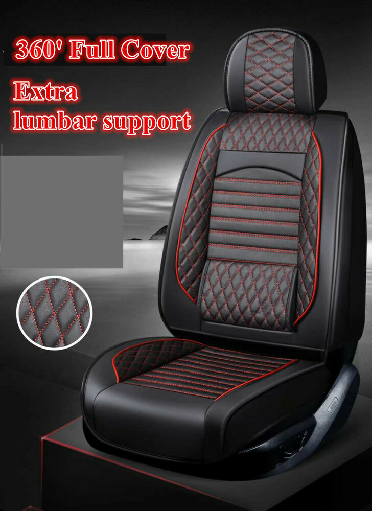Black Leather Car Seat Covers Mazda 2 Mazda 3 Mazda 6