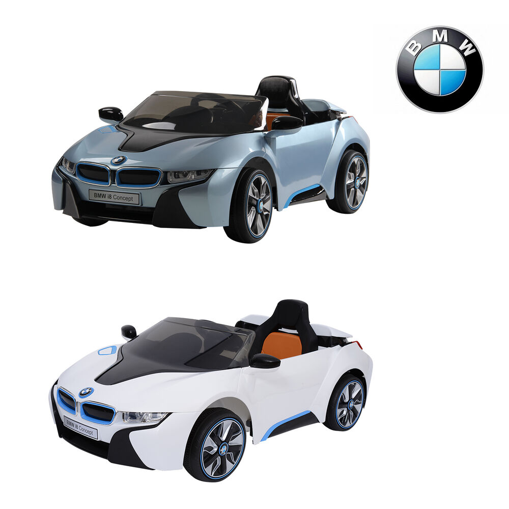 bmw voiture electrique pour enfant i8 2 moteurs 12v 3 6km. Black Bedroom Furniture Sets. Home Design Ideas