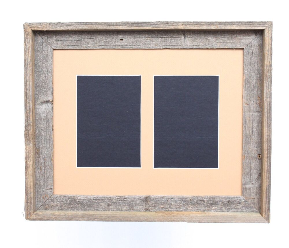 Barnwood Usa 11x14 Signature Picture Frame For Two 5x7
