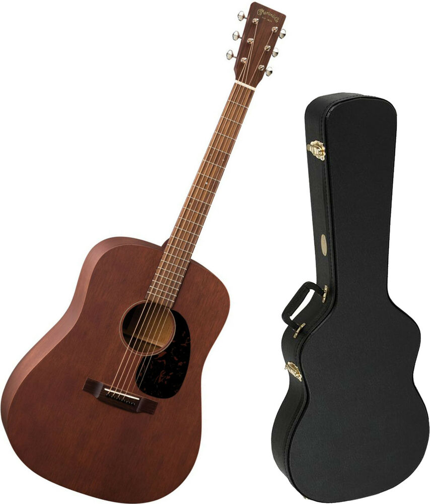 martin mahogany 15 series d 15m solid mahogany acoustic guitar 729789399630 ebay. Black Bedroom Furniture Sets. Home Design Ideas