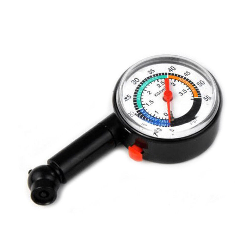 Auto car motor bike vehicle tire air pressure gauge dial for Is a bicycle considered a motor vehicle