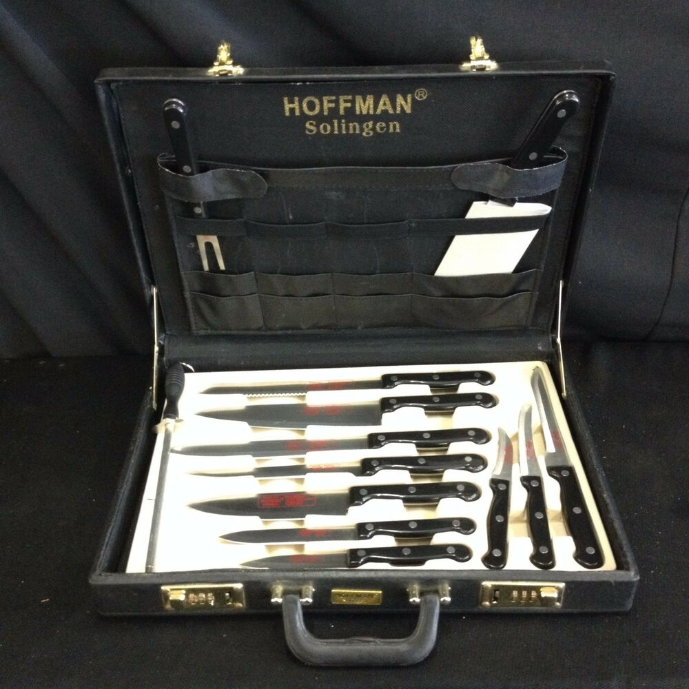 Chef S Knife Set And Case. concord 24 pc professional chef