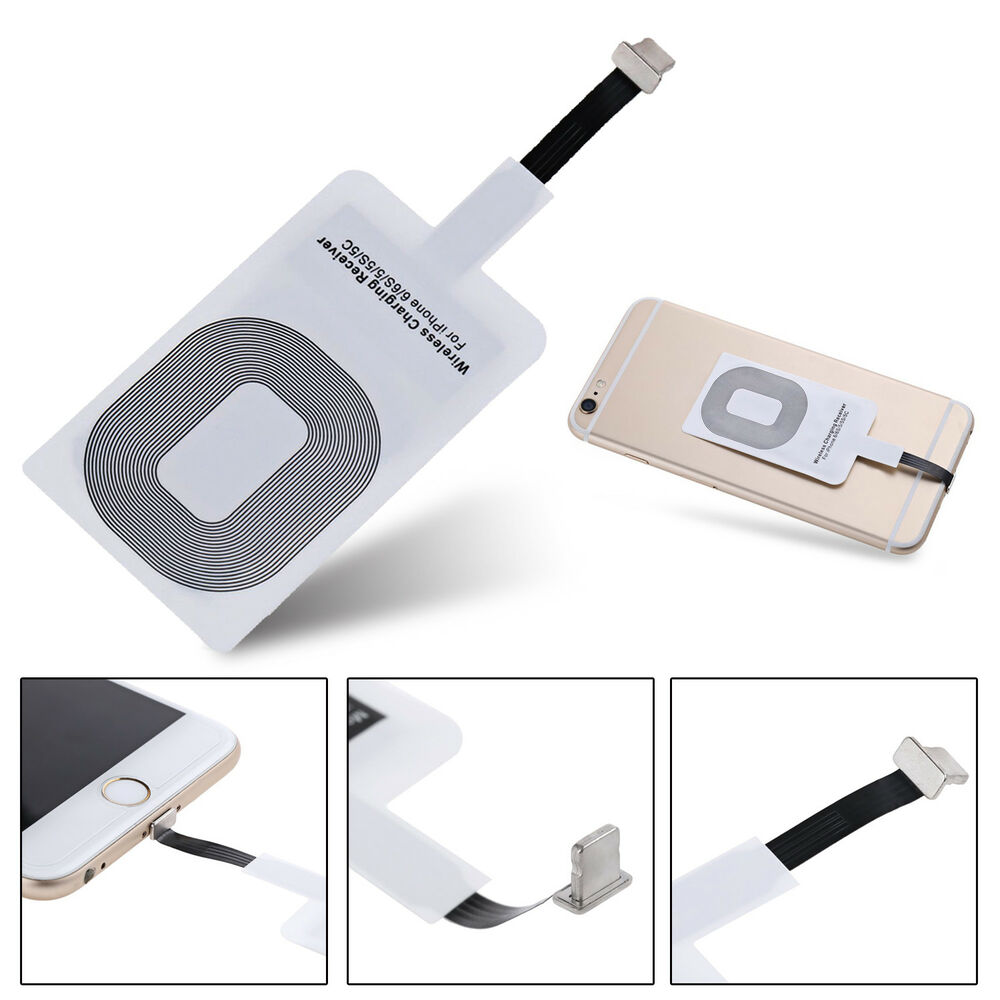for iphone5 5s 6 plus 6s plus 7 plus qi wireless charging. Black Bedroom Furniture Sets. Home Design Ideas