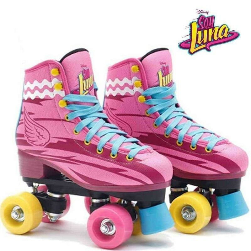 patines soy luna disney professional roller skates original patines ebay. Black Bedroom Furniture Sets. Home Design Ideas