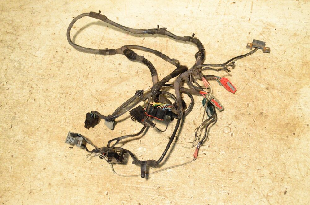 Jeep Wrangler Tj Dash Heater Ac Wiring Harness Late 1997