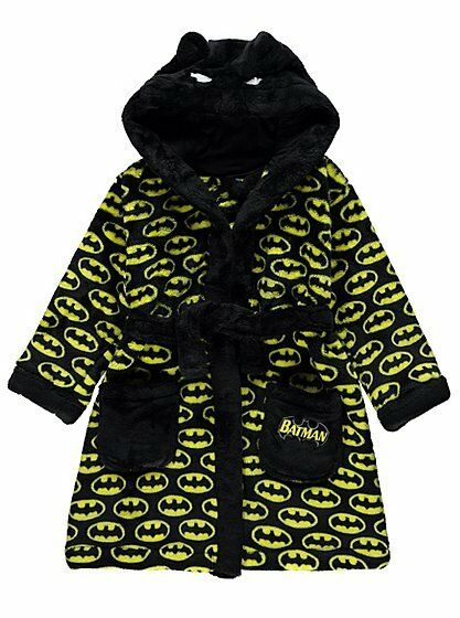 product batman hooded dressing gown